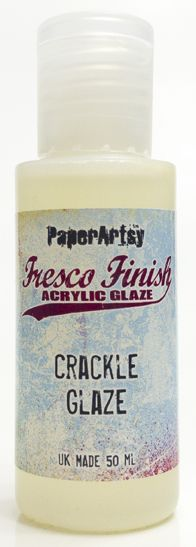 Fresco Finish - Crackle Effect (layer between 2 colours)