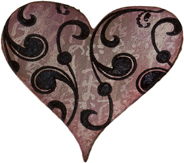 PaperArtsy Die - Full Heart