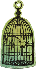 PaperArtsy Die - Small Bird Cage