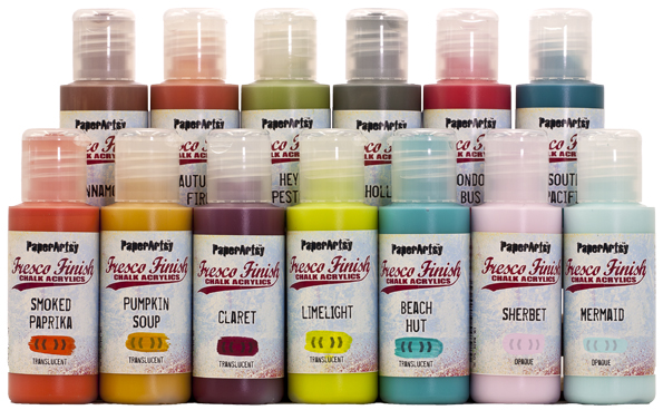 Fresco Finish Acrylic Paints
